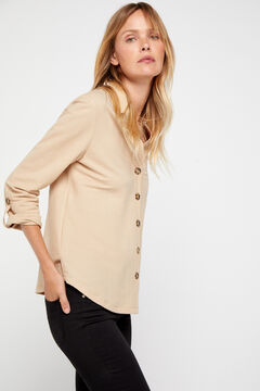 Cortefiel Comfort shirt Mole