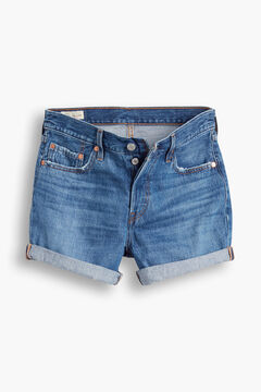 Cortefiel 501 Levi's® ROLLED SHORT Turquoise