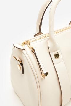 Cortefiel Bowling bag White