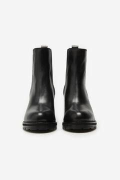 Cortefiel Track ankle boot Black