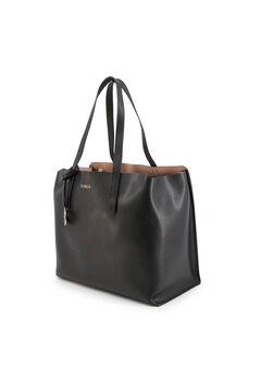 Cortefiel Plain two handle shopper Black