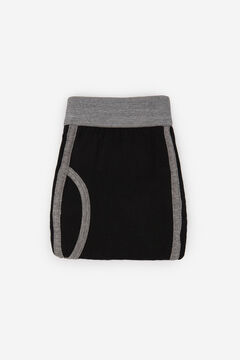 Cortefiel Plain jersey-knit boxers Black