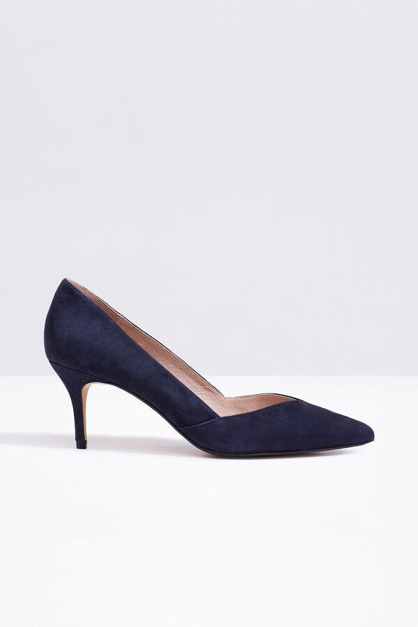 Cortefiel Zapato tacón ante Azul d26a2cb01d5d