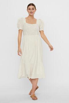 Cortefiel Midi dress  Stone