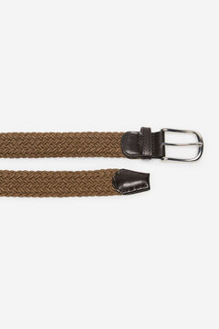 Cortefiel Woven fabric belt Mole