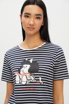 Cortefiel Mafalda t-shirt Blue