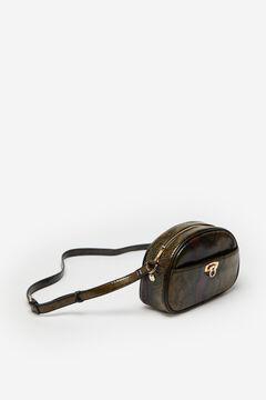 Cortefiel Snake crossbody bag Pistachiogreen