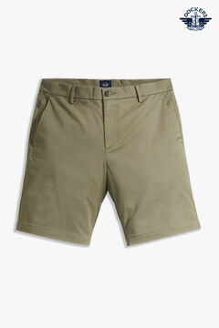 Cortefiel Dockers® SMART SUPREME FLEX MODERN CHINO SHORT Stone