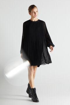 Cortefiel Short comfort dress Black