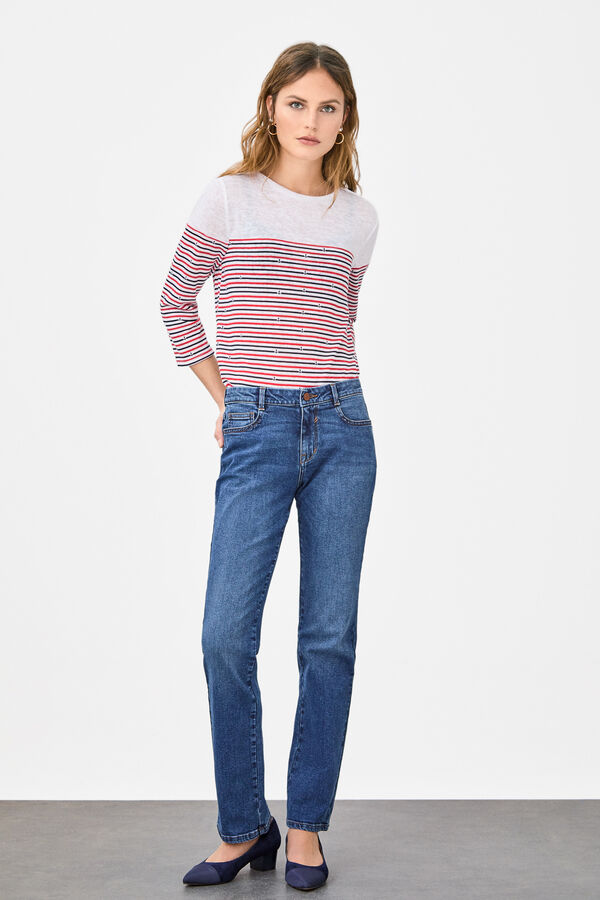 19dc74e5a7 Cortefiel Jeans regular fit Azul