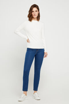 Cortefiel Sensational jeggings Royal blue
