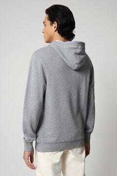 Cortefiel Napapijri BURGEE SUM hoodie Gray