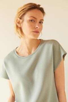 Cortefiel Soft feel sleeveless sweatshirt Gray