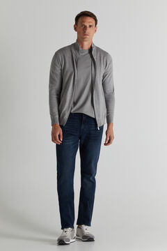 Cortefiel Jeans regular escura Azul