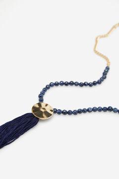 Cortefiel Parrot brooch Navy