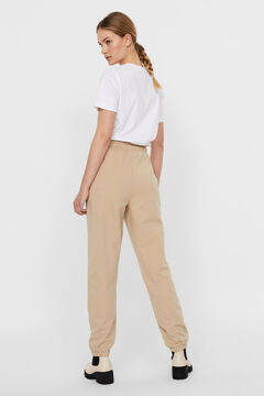Cortefiel Jogger trousers Stone