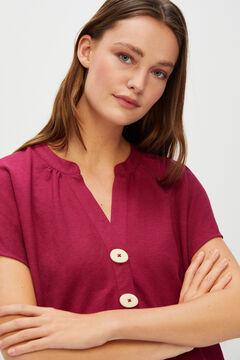 Cortefiel Comfort blouse Purpura