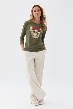 Cortefiel Disney Minnie Mouse T-shirt Dark gray