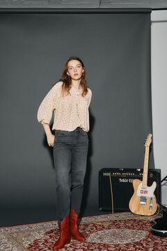 Cortefiel Boyfriend fit jeans Marengo