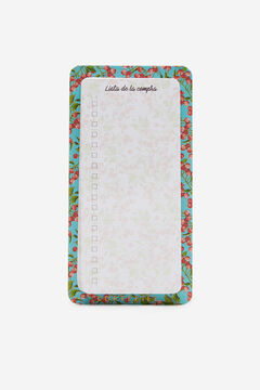 Cortefiel Magnetic shopping list planner Natural