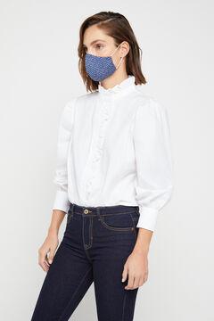 Cortefiel Máscara bolinhas azul-marinho Azul