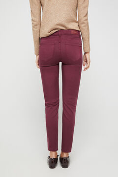Cortefiel Original Sensational jeans Red