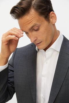 Cortefiel Tailored fit Coolmax® blazer Gray