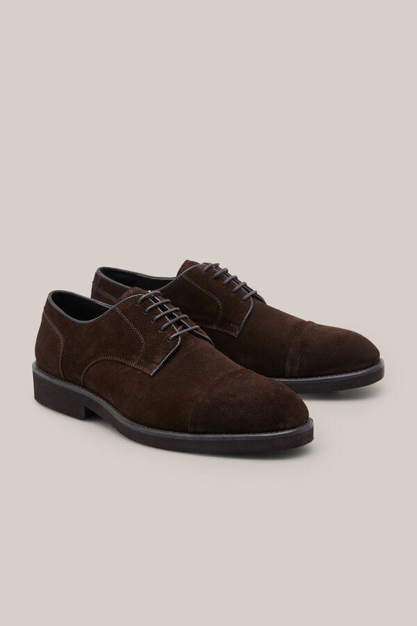 Cortefiel Zapato serraje pala recta Marrón a3b9c42f490c6