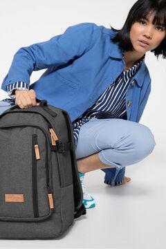 Cortefiel Smallker Black 2 backpack Black