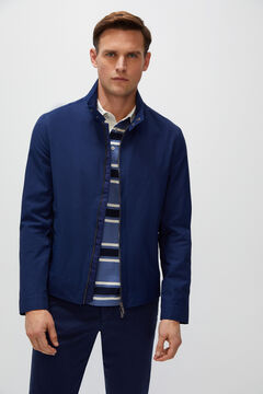 Cortefiel Jacket two pockets Navy