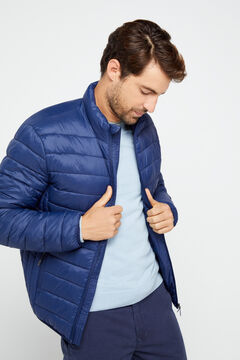 Cortefiel Ultralight thermolite jacket Navy