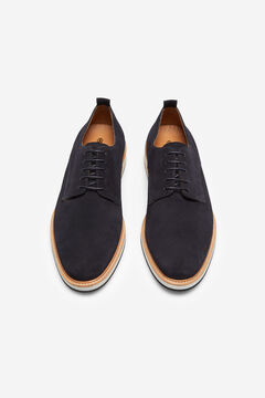Cortefiel Lace-up shoe Navy