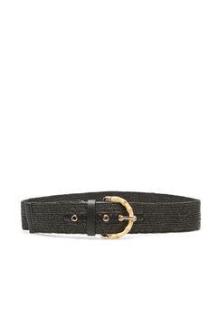 Cortefiel Regular fit hip belt Black