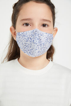 Cortefiel Hygienic face mask for girls Blue