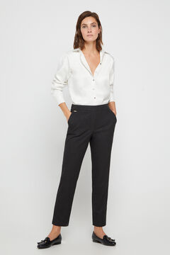 Cortefiel Chino fit trousers Marengo