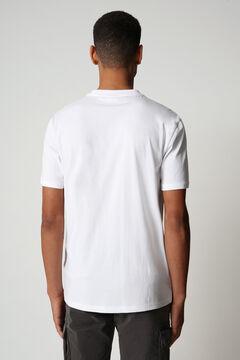 Cortefiel Camiseta SIROL SS manga corta Napapijri Blanco