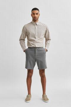Cortefiel Flex Bermuda shorts Pistachiogreen