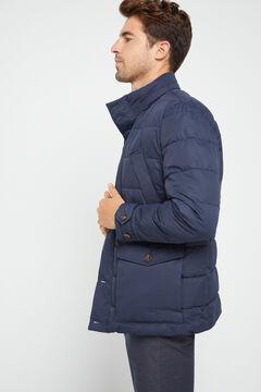 Cortefiel Urbanlight jacket with Thermolite Eco  Navy