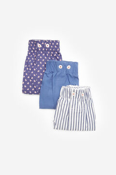 Cortefiel Pack 3 boxers tecido Azul