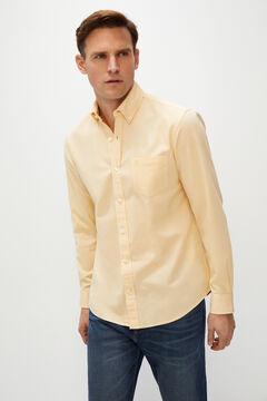Cortefiel Plain organic cotton Oxford shirt Multicolor