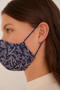 Cortefiel Máscara estampada espiga Azul