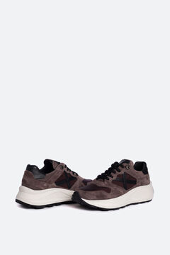 Cortefiel Zapatillas deportivas de hombre Munich en marrón Marrón