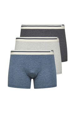 Cortefiel Briefs pack Gray