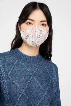 Cortefiel Máscara reutilizável caxemira Rosa
