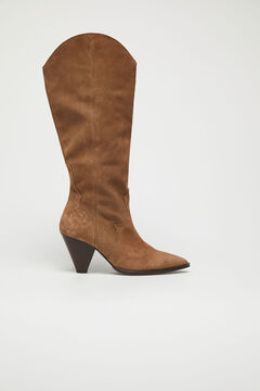 Cortefiel Boot with conical heel Mole