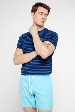 Cortefiel Plain swimming shorts Green