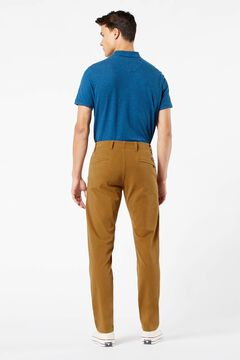 Cortefiel Alpha slim Dockers® trousers with Smart 360 Flex™ Dark brown
