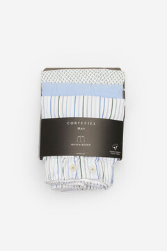 Cortefiel 3-pack woven boxers Stone