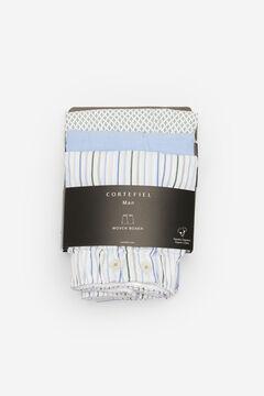 Cortefiel Pack 3 boxer tela Azul