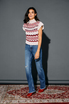 Cortefiel New flare fit jeans Bluejeans